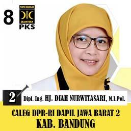 Diah Nurwitasari, Dipl.Ing PKS, Calon Legislatif DPR-RI Dapil Jawa Barat 2 2019