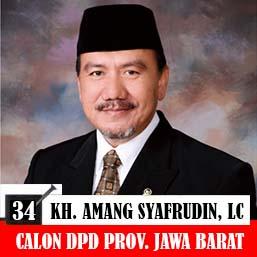 Amang Syafrudin Calon Anggota DPD Jawa Barat 2019