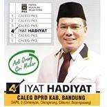 Iyat Hadiyat Caleg PKS DPRD Dapil 3 Kabupaten Bandung